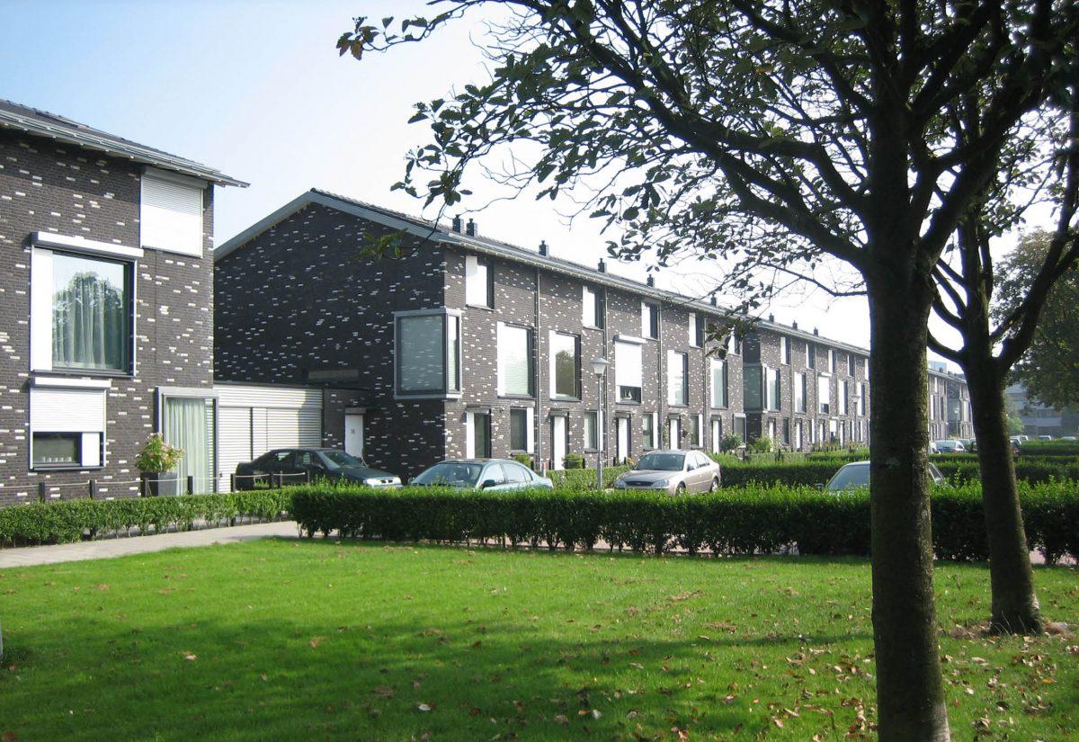 Zwart-wit woningen Middelburg