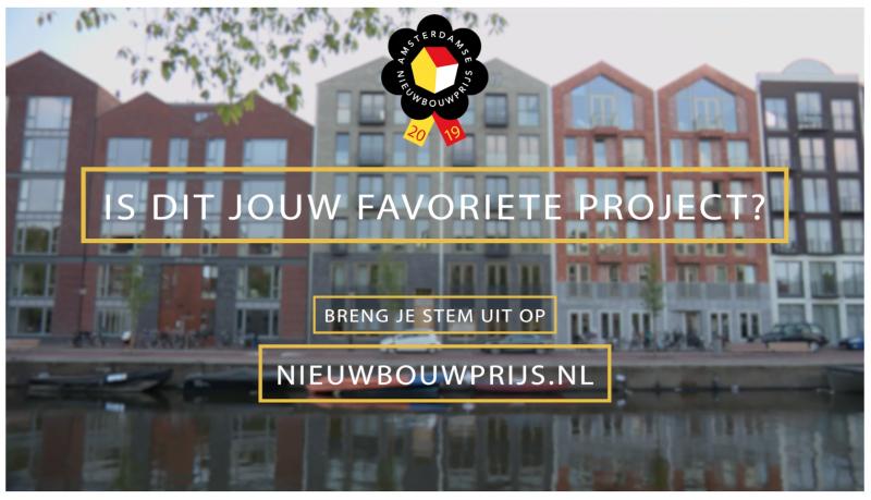 190524 Nominatie voor de Amsterdamse Nieuwbouwprijs 2019
